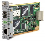AT-CM3K0S Медиаконвертер Media Blade 10/100/1000TX to SFP, with 802.3ah OAM Support ECO FRIENDLY