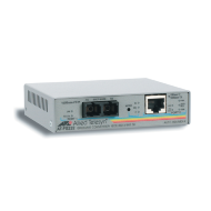 AT-FS232/1-60 Медиаконвертер 10/100TX to 100FX (SC) single-mode (15km) 2 port switch with Enhanced Missing Link